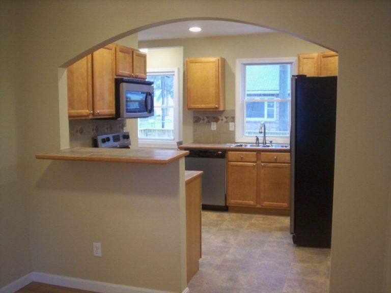 фото арок на кухне с барной всё