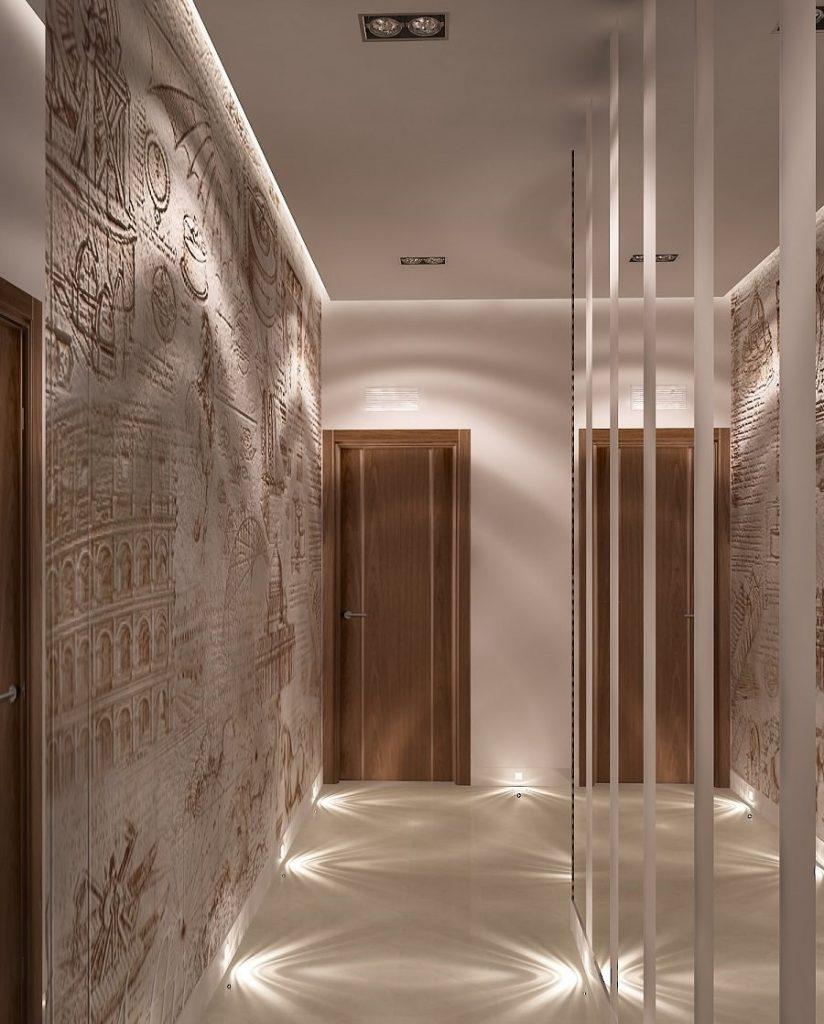 фотообои в узкий длинный коридор