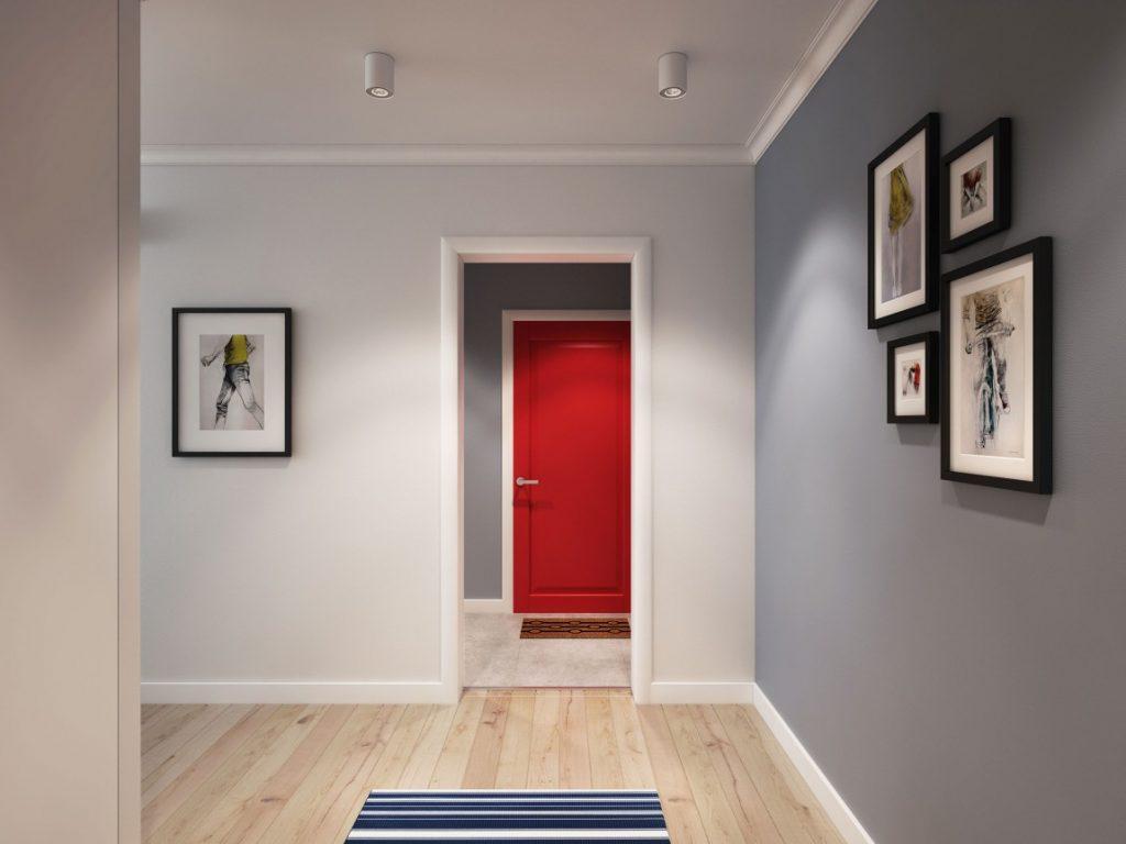 Ламинат на стену фото в коридоре такие качества