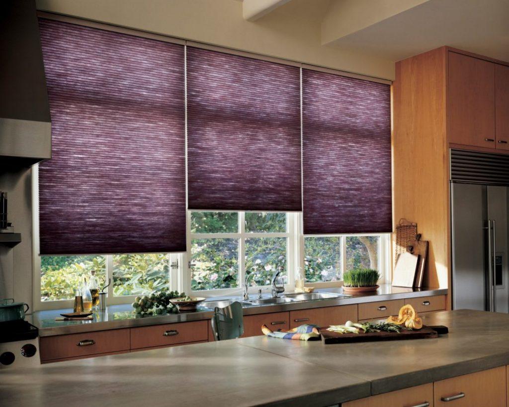 жалюзи шторы на кухню фото
