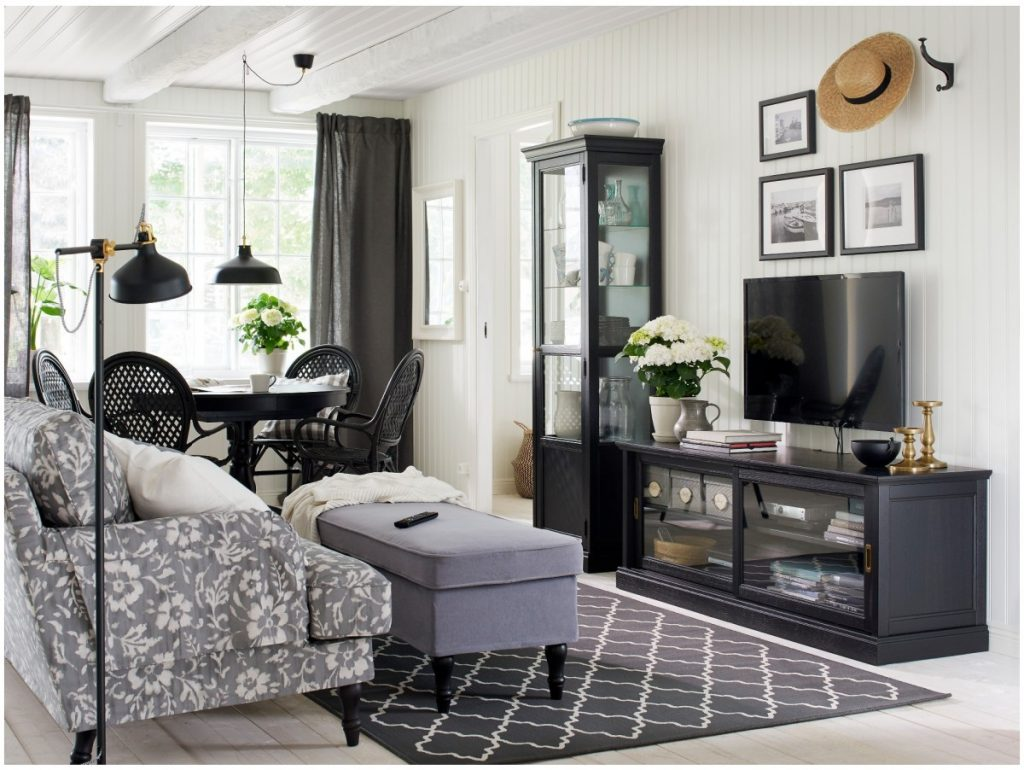 гостиная с мебелью икеа реальные фото забронировать гостиницу каспийск