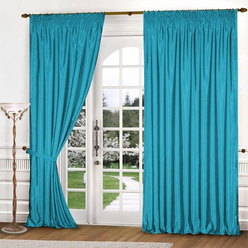 решил, окно с длинными синими шторами фото честь местной
