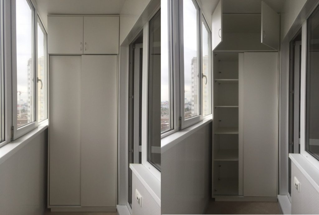 делать как шкаф на балконе фото дизайн тренде