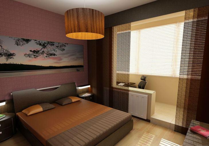 Дизайн спальни с балконом 119 фото совмещенная спальня 13-14 16 кв м в квартире с окном объединенная с лоджией