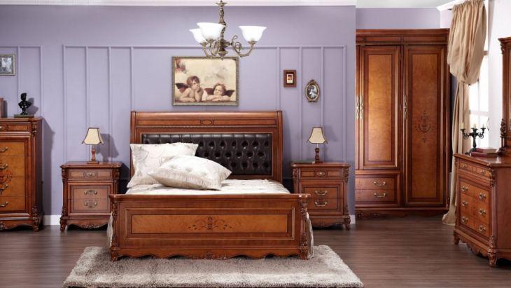 Деревянная спальня 53 фото дизайн интерьера в деревенском стиле с элементами дерева