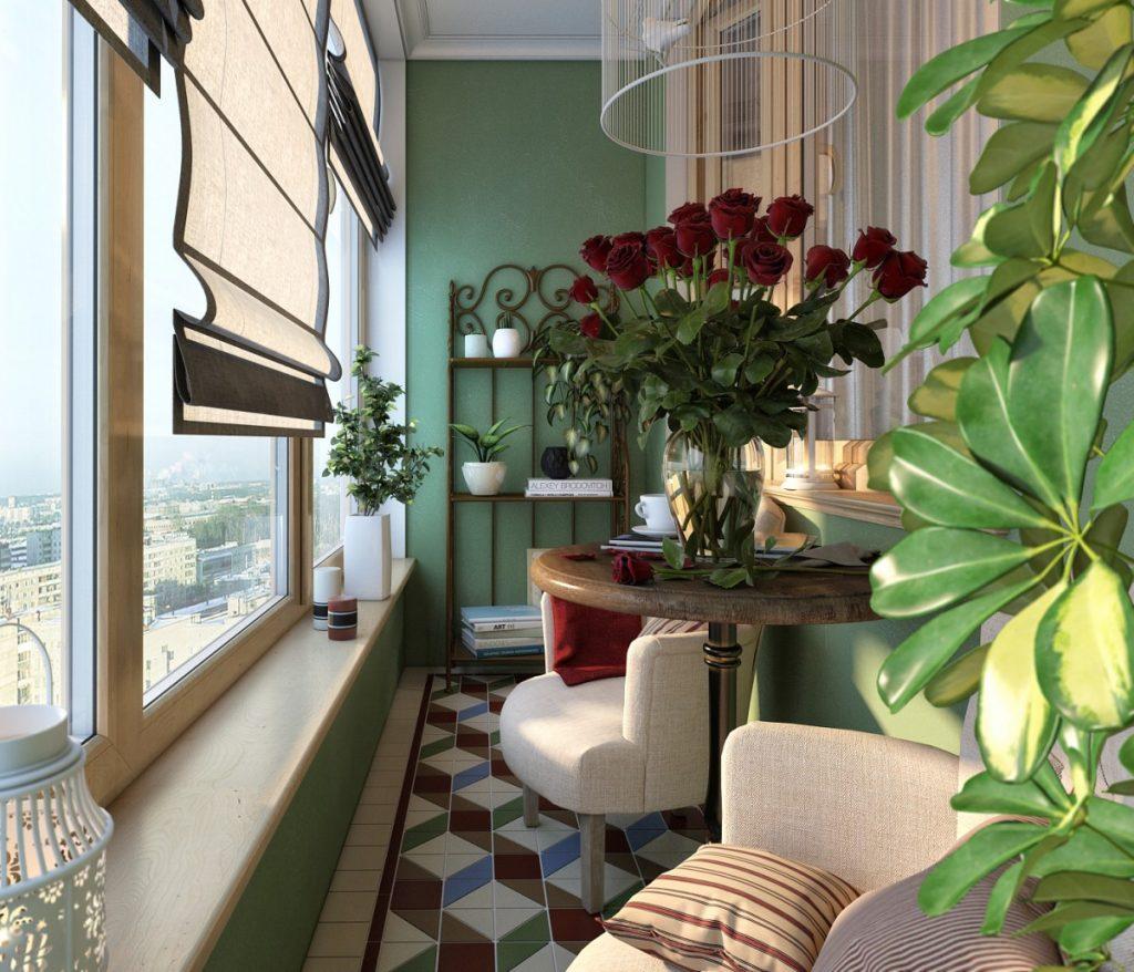 комнатный балкон фото видео