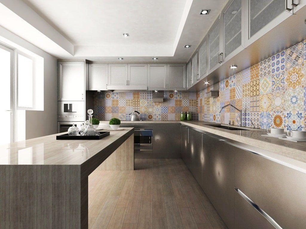 весёлый модная отделка стен на кухне фото гидроциклы